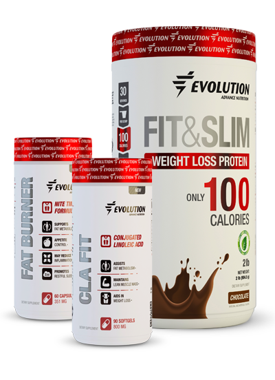 Evolution Advance Nutrition Fit & Slim Toning Stack - Chocolate