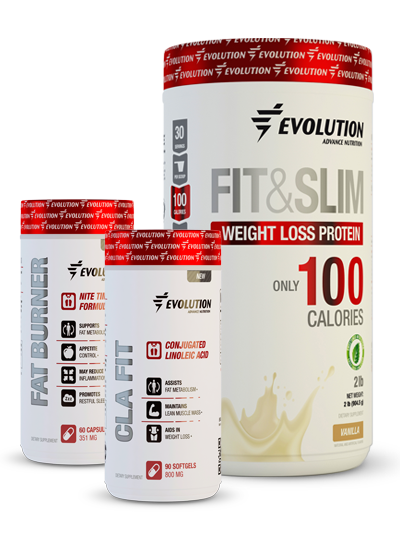 Evolution Advance Nutrition Fit & Slim Toning Stack - Vainilla