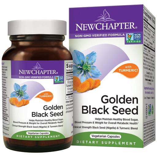 New Chapter Golden Black Seed Black Seed Oil + Turmeric