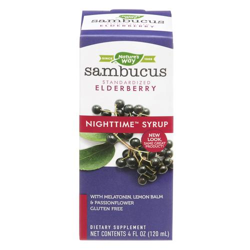 Nature's Way - Sambucus - NightTime - 4 oz