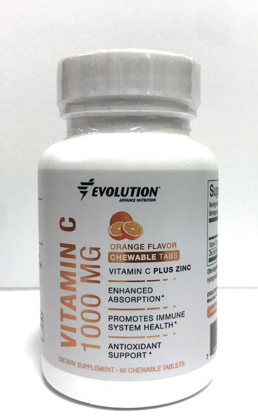 Evolution Advance Nutrition Vitamin C 1000 MG Plus Zinc