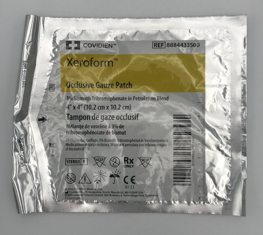 Covidien Xeroform Occlusive Gauze Patch 4 X 4