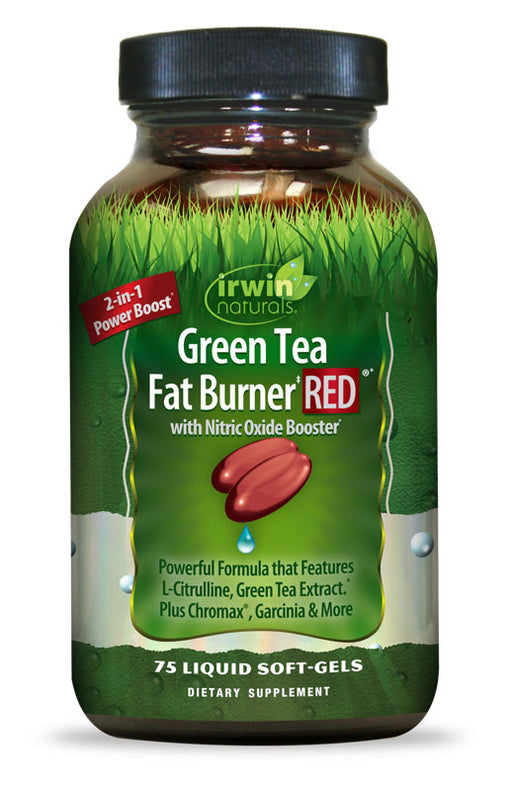 Irwin Naturals Green Tea Fat Burner RED