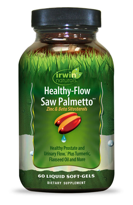 Irwin Naturals Healthy Flow Saw Palmetto