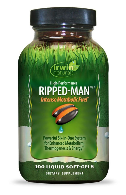 Irwin Naturals High-Performance Ripped-Man