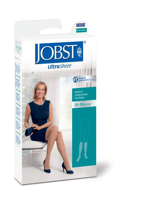 JOBST Ultrasheer Stockings Knee Closed Toe Sizes Lgfc to Xlfc