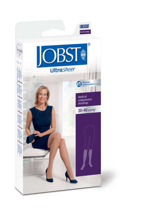 JOBST Ultrasheer Stockings Knee High Closed Toe Sizes S to XL (List A)