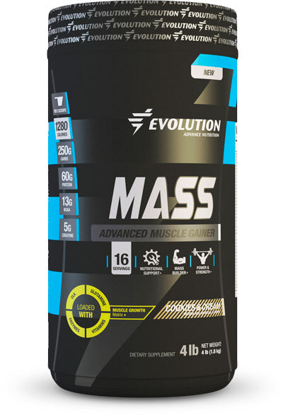 Evolution Advance Nutrition Mass Cookies and Cream