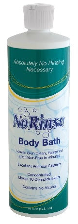 Cleanlife Products No Rinse® Body Bath