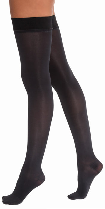 JOBST Opaque Stockings Thigh Closed Toe Dot