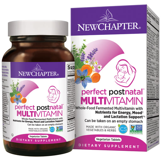 New Chapter Perfect Postnatal Multivitamin Lactation Supplement
