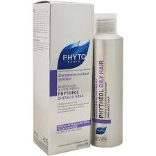 Phyto Phytheol Oily Hair Purifying Scalp Exfoliating Shampoo 6.7 oz