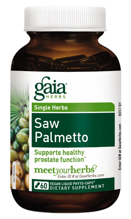 Gaia Herbs Saw Palmetto