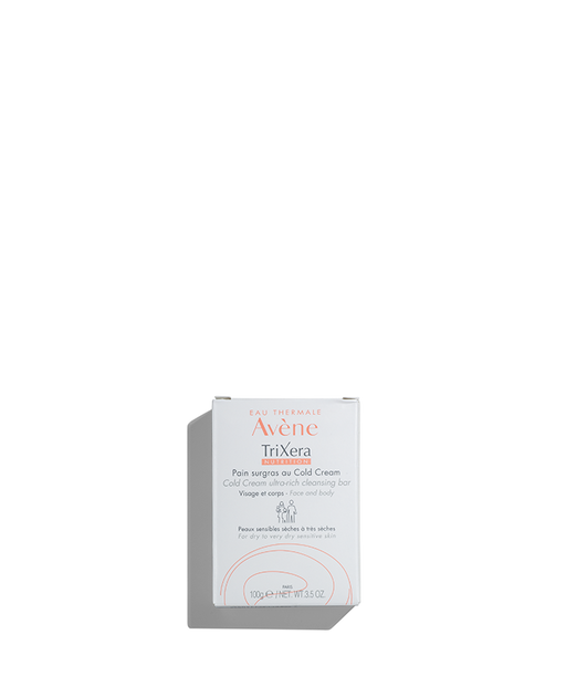 Avene TriXera Nutrition Ultra-Rich Cleansing Bar. 3.5OZ