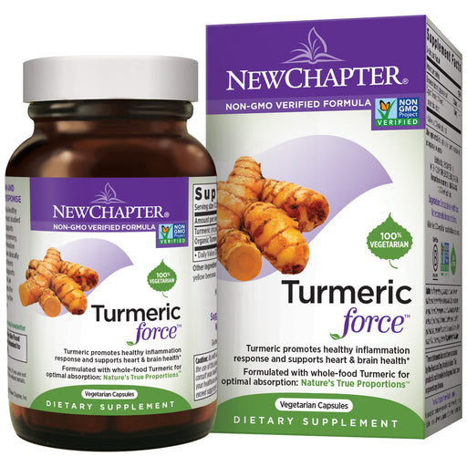 New Chapter Turmeric Force Turmeric Supplement ONE DAILY