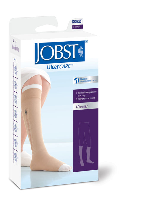Jobst Ulcercare 2-Part System Left/Zip W/Lin