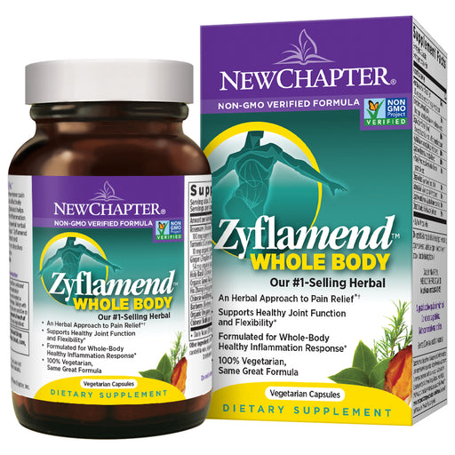 New Chapter Zyflamend Whole Body Joint Supplement + Herbal Pain Relief