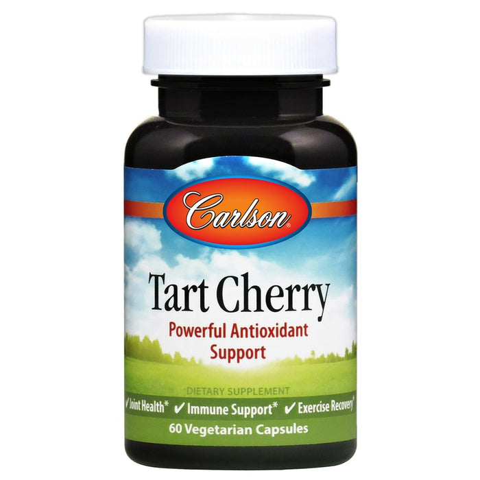 Carlson Tart Cherry 500Mg Vegetable Capsules