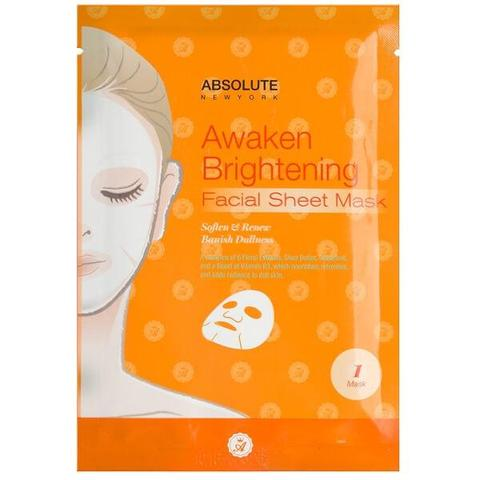 Absolute Awaken Brightening Facial Sheet Mask