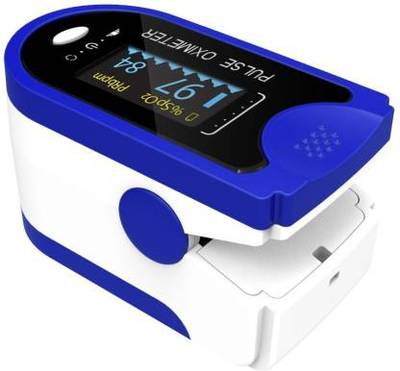 Aiqura Pulse Oximeter LED Display (Blue, White) AD805