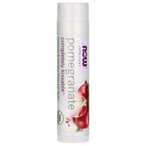 NOW Foods Completely Kissable Lip Balm - Pomegranate 0.15 oz