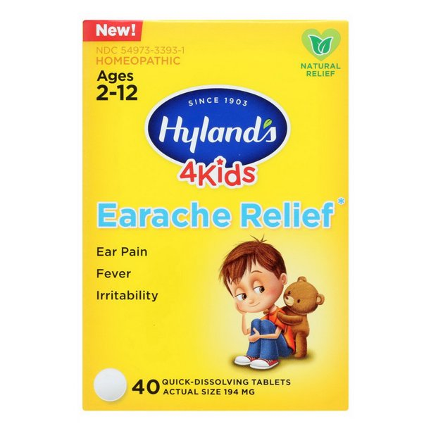 Hylands Earache Rellief 4 Kids - 40 Ea