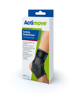 Actimove Ankle Stabilizer Criss-Cross Straps Universal