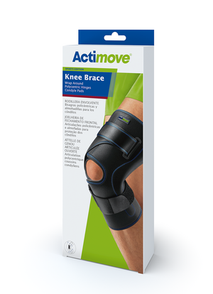 Actimove Knee Brace Wrap Around, Polycentric Hinges, Condyle Pads