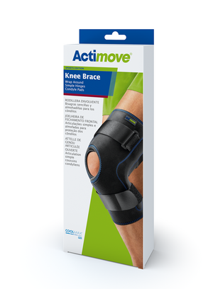 Actimove Knee Brace Wrap Around, Simple Hinges, Condyle Pads