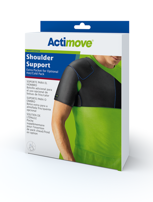 Actimove Shoulder Support Extra Pocket for Optional Hot/Cold Pack