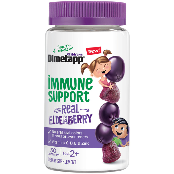 Children's Dimetapp Immune Support Dietary Supplement Gummies 30 ct Bottle