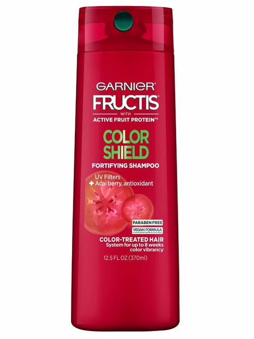Garnier Fructis Color Shield Shampoo, Color-Treated Hair, 12.5 oz.