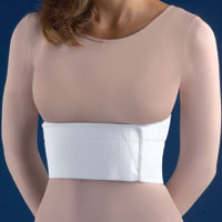 FLA ORTHOPEDICS PREMIUM WOVEN TWO-PANEL SURGICAL RIB BELT