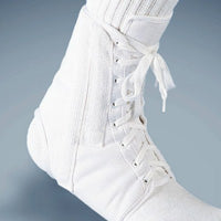 FLA ORTHOPEDICS CANVAS LACE-UP ANKLE BRACE