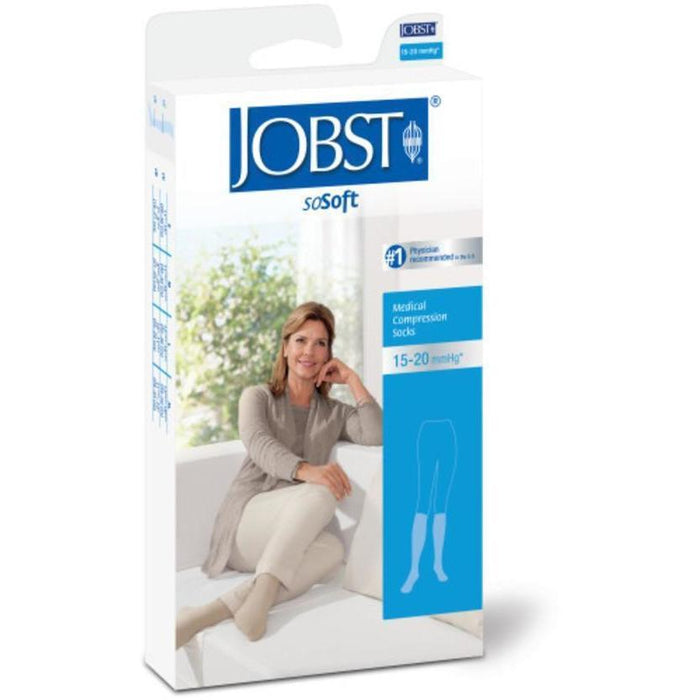 Jobst Sosoft Knee Ribbed Closed Toe