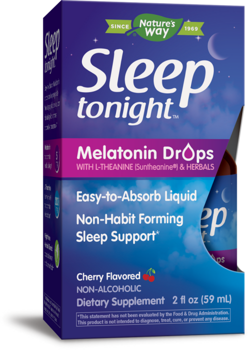 Nature's Way Sleep Tonight Melatonin Cherry Drops