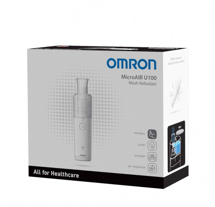Omron Portable MicroAir® Battery-Operated Nebulizer Model: NE-U100  ...