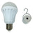 Electriduct Rechargeable Emergency Portable LED Light Bulb- In Bulk 20 Pieces (Bulto de 20 Bombillos Led Recargable)