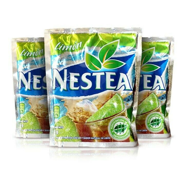 NESTEA SABOR A LIMON DE VENEZUELA EL ORIGINAL 90 g (VENEZUELAN ICE TEA LIME FLAVOR THE ORIGINAL NESTEA FROM VENEZUELA)