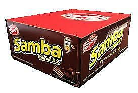 Nestle Savoy Samba Chocolate 12 Units Box