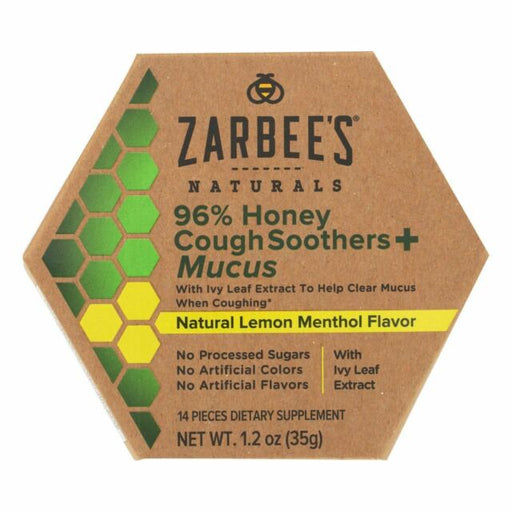 Zarbee's - Cough&mucus Sooth Honey Ivy - 1.2 Fz