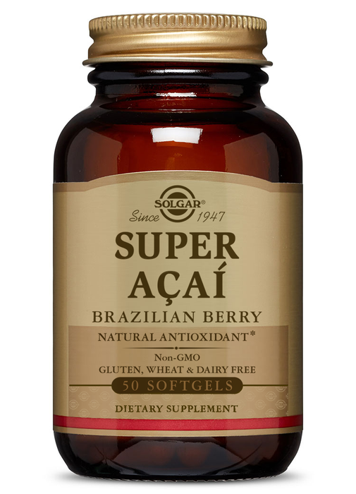 Solgar Super Acai Brazilian Berry Softgels