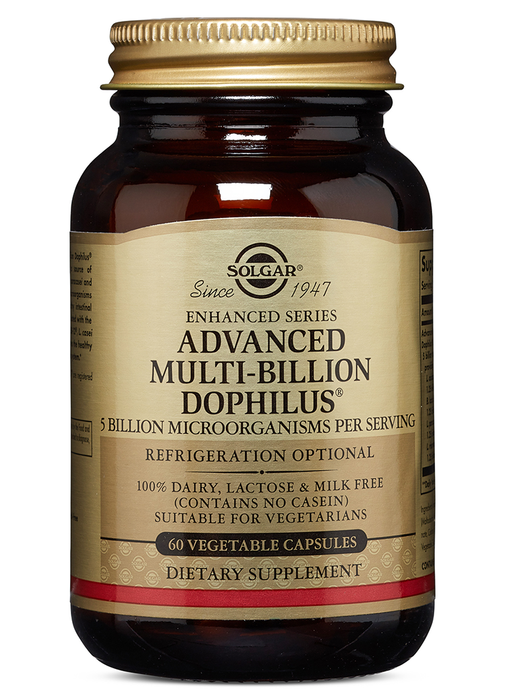 Solgar Advanced Multi-Billion Dophilus Vegetable Capsules