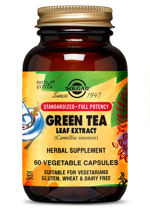Solgar SFP Green Tea Leaf Extract Vegetable Capsules