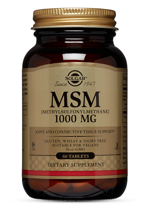Solgar MSM 1000 mg Tablets