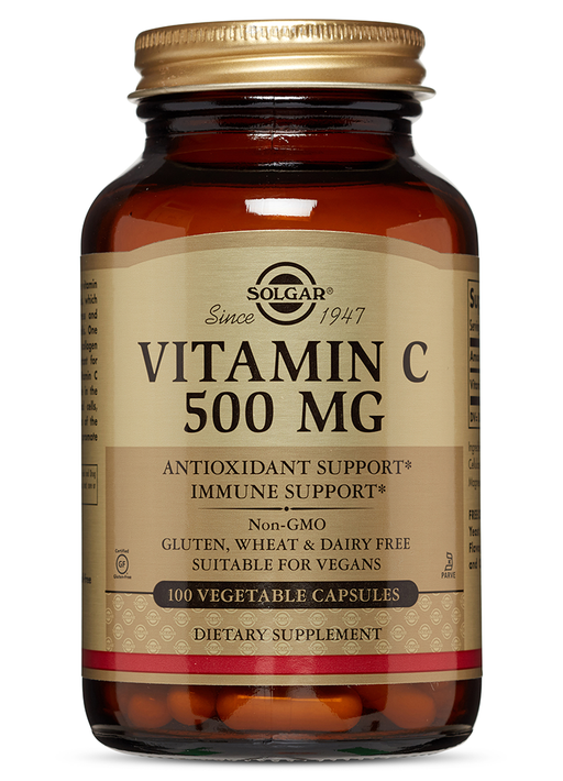 Solgar Vitamin C 500 mg Vegetable Capsules