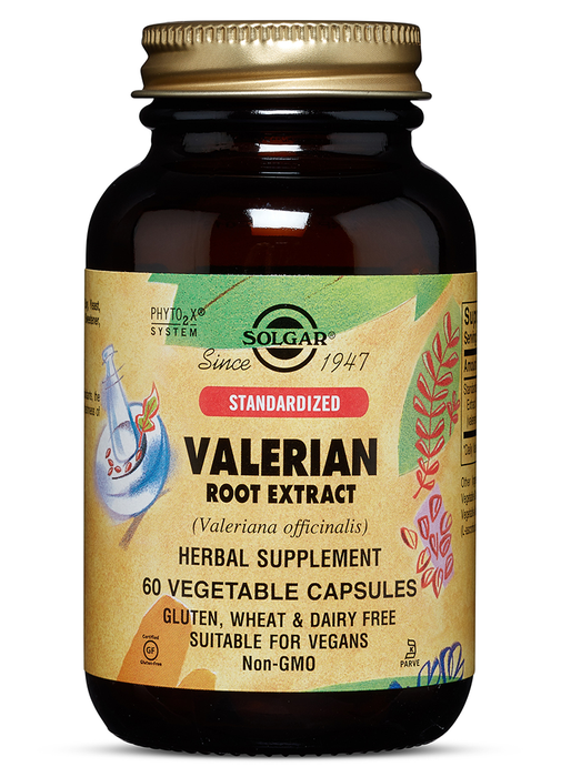 Solgar Standardized Valerian Root Extract Vegetable Capsules