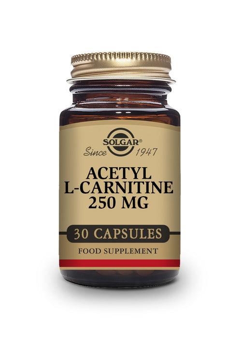 Solgar Acetyl L-Carnitine 250 mg Vegetable Capsules