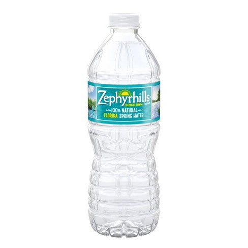 ZEPHYRHILLS SPRING WATER 16.9OZ 40 ct