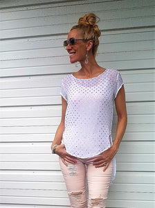 GELLA GOLD DOT TOP